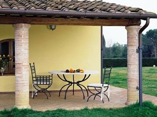 Arredo giardino moderno tavolo per esterno with arredo for Arredo giardino moderno