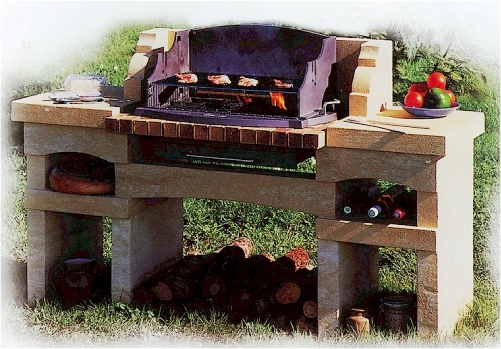 Collocare il barbecue - Barbecue da esterno ...