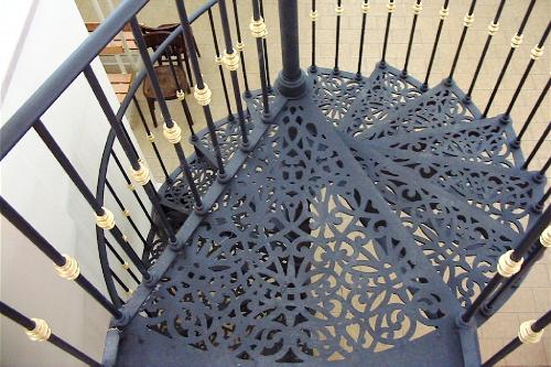 Le scale a chiocciola in ghisa for Scala chiocciola usata