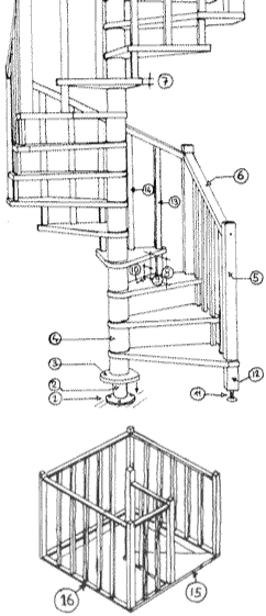 Elegant scale with larghezza scala interna - Larghezza scala interna ...